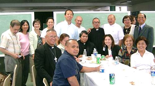 Bishop Palma with Samarenos in California photo