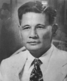 Senate president Jose Avelino